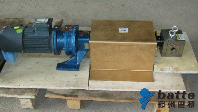熔体齿轮泵