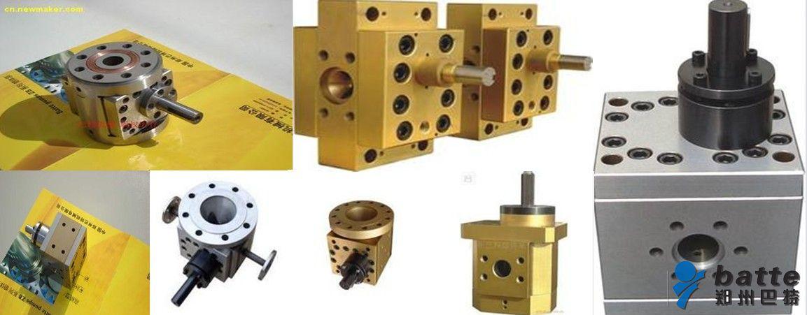 使用的工况,熔体泵制作时所使用的材质,内部的结构,齿轮等的配合间隙图片