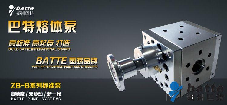 标准熔体泵