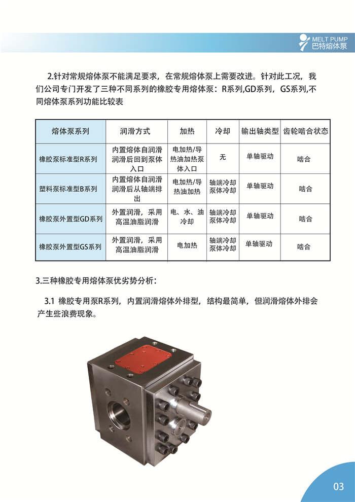 BATTE 橡胶专用泵简介3 橡胶泵