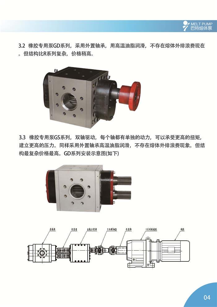 BATTE 橡胶专用泵简介4 橡胶泵