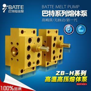 ZB-H高温高压熔体泵